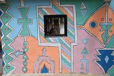 Peinture d'Adama au Dâara - Sénégal