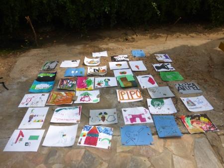 Les dessins des artistes en herbe
