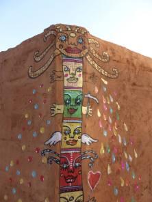 Peinture sur terre - Keru Gondé - Sénégal