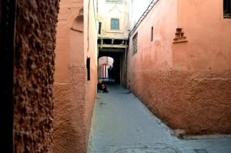 Les ruelles de la Medina de Marrakech