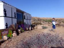 La petite fille du Camp bedouin.